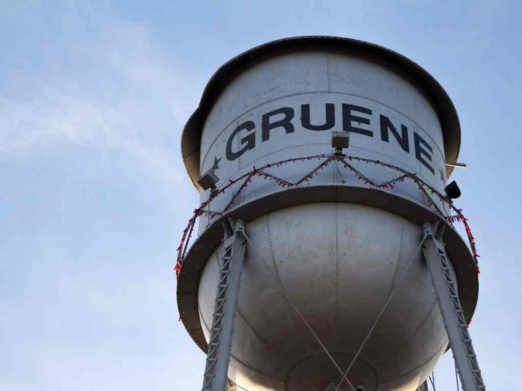 Gruene tower-day trips from Austin