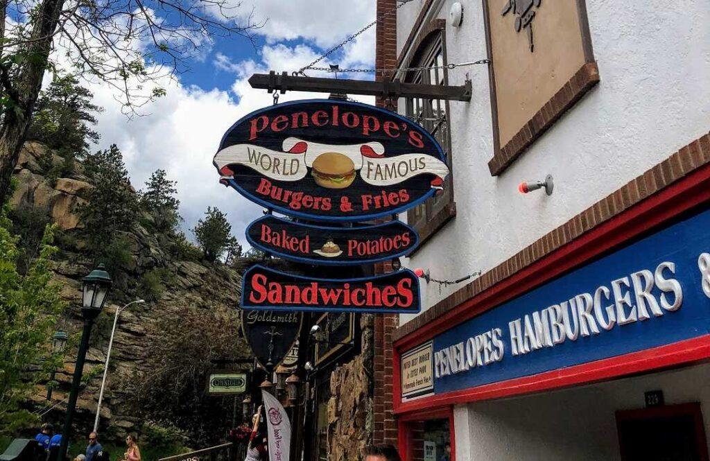 Penelope's is one of the best restaurants in Estes Park