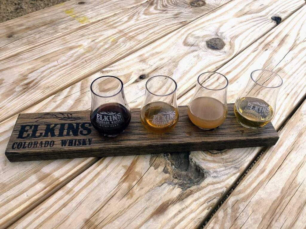 Visiting a distiller is one of the things to do at Estes Park