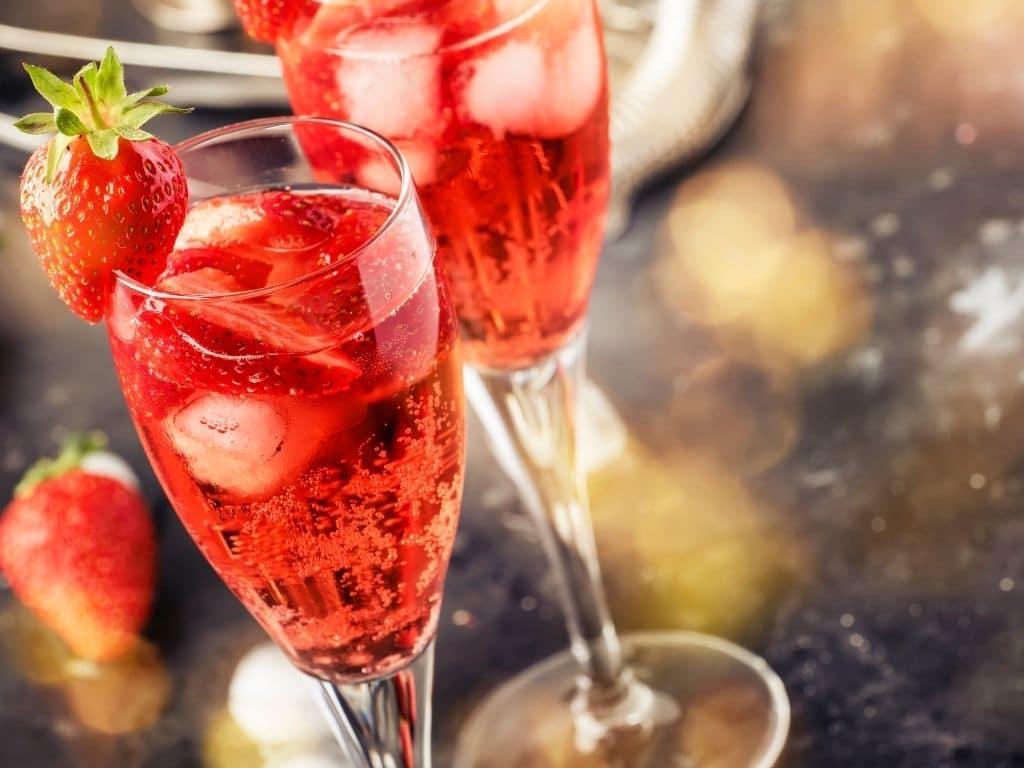 Italian Cocktails-Rossini