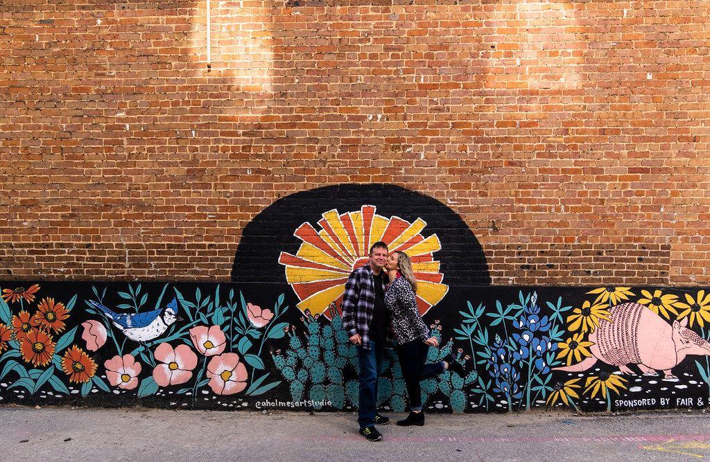 murals in Downtown McKinney