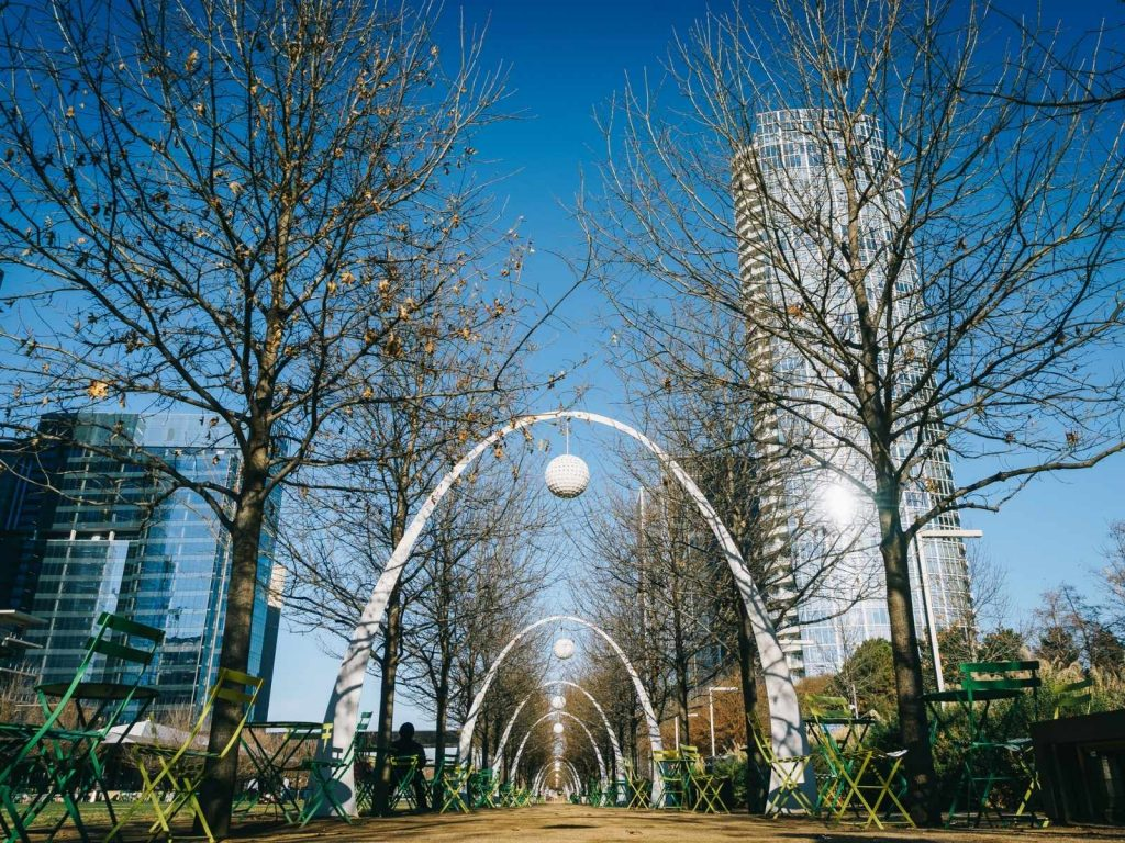 Klyde Warren Park in Dallas