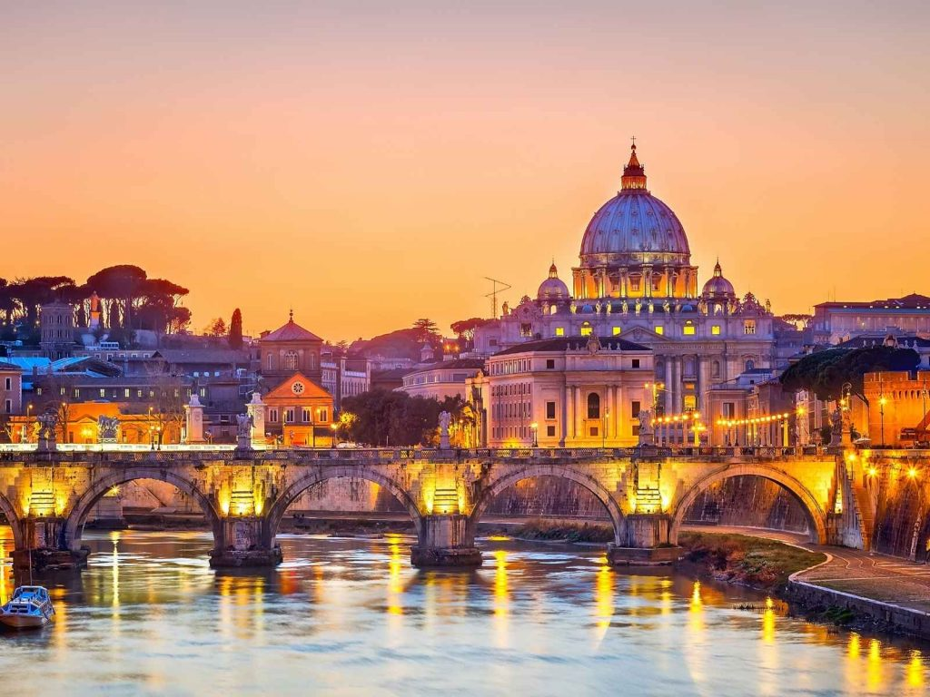 Vatican city in Italy