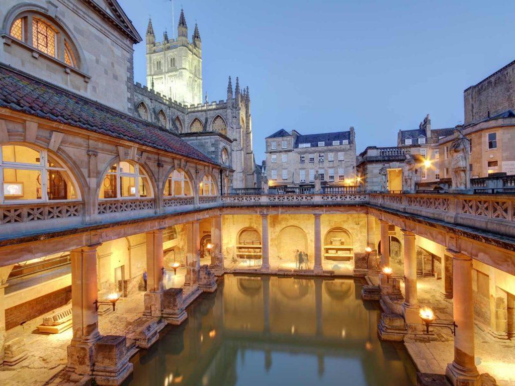 bath house in Bath England